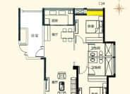 13A-3室2厅2卫-119.0㎡
