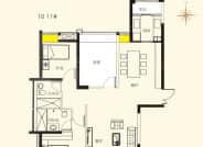 10-11D户型-3室2厅2卫-129.0㎡